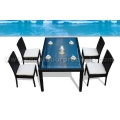 Outdoor Rattan Dining Tables and Chairs