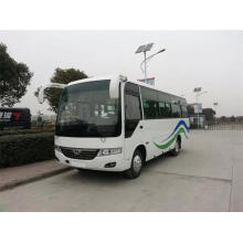 Left Hand Drive Diesel Engine 30 Seats Bus with Euro3
