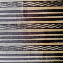 Tissu tricoté africain 100% polyester imprimé