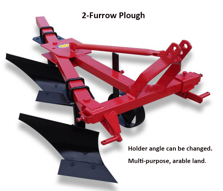 2-Furrow Plough Machine