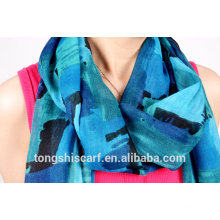 polyester printed infinity scarf 019-03 HD132