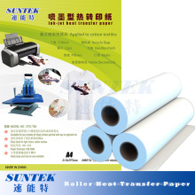 Roller tipo de papel de impresión de transferencia de calor para gran formato
