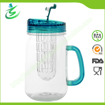 16oz BPA-Free Double-Wall Acrylic Cup, Mason Jar (IB-A5)