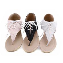 мода флип-флоп плоские сандалии новый 2014 леди обувь