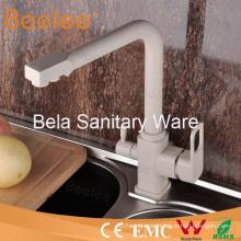 Exklusive Luxus Messing 3 Weg Küche Wasserhahn Mischbatterie mit Schwenkauslauf