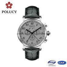 Chine usine OEM pas cher chronographe montre