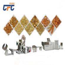 Linha de produção fritada da máquina do alimento dos petiscos dos cornetas da farinha