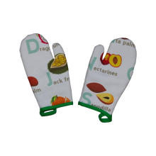 2018 Kefei Custom Printed Double Oven Mitt