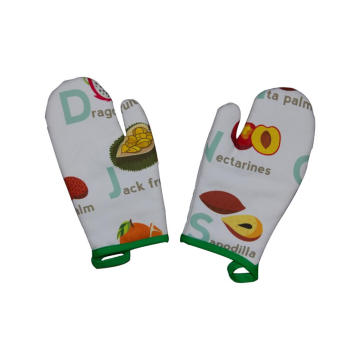 2018 Kefei Neoprene Silicone Oven Mitt With Logo