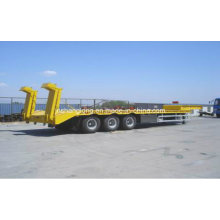 40 Ton Three Axle Low-Plate Semi-Trailer