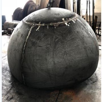 Thick plate hemispherical dishend for big storage tank