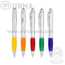 Супер подарки водить Промотирования, ручка Жм-D03b с одним светодиодом
