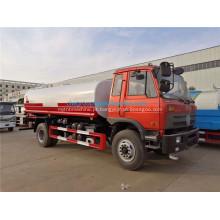 Dongfeng 15000 litros caminhão tanque de capacidade de água