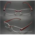 2015 mais recente moda de uma peça lente óculos de leitura (wrp504201)