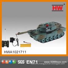 8-канальные игрушки для военных танков RC включают зарядное устройство со светом и музыкой