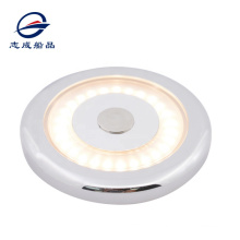 Genuine Marine RV Caravan Boat 3w 6w Surface Mounted  Dimming Switch Round LED Ceiling Light