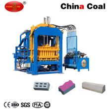 Máquina de fabricación de bloques de ladrillo de hormigón automático Qtf4-15