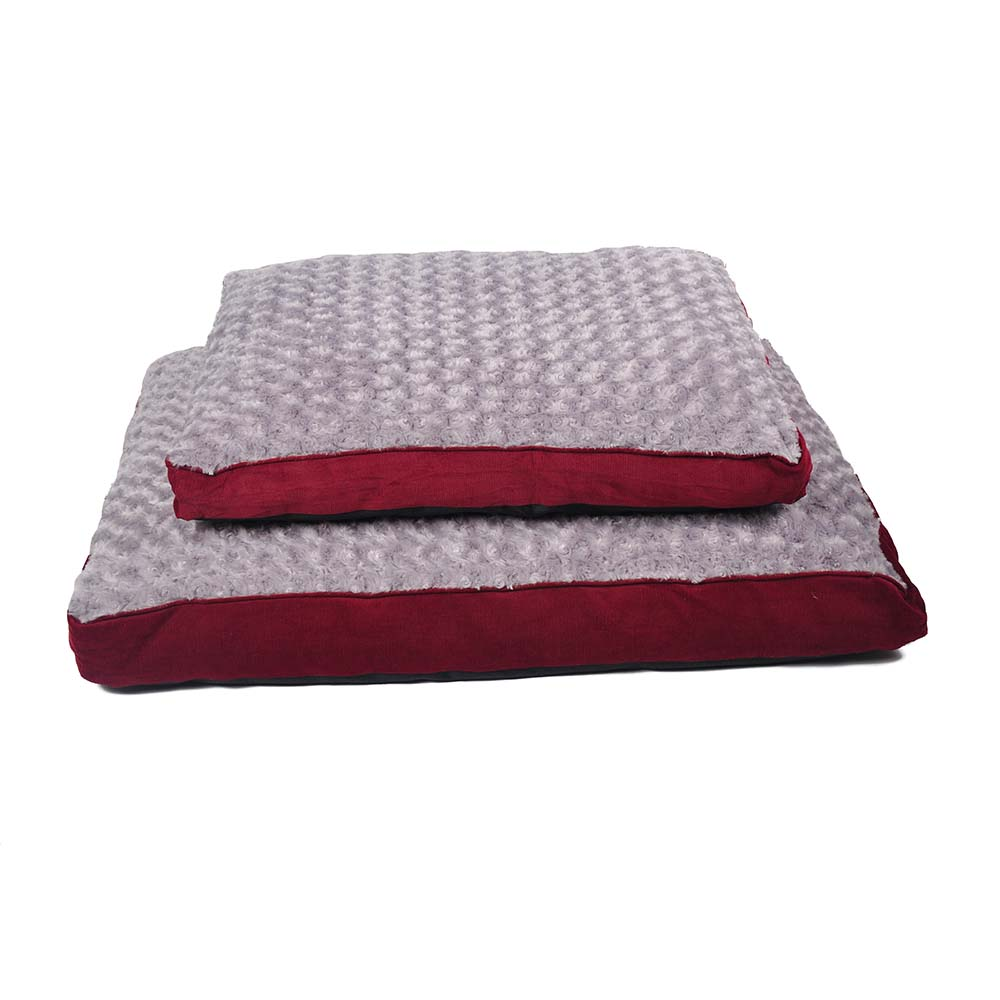 Rectangle Pet Bed Corduroy 1 S