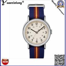 Yxl-127 Mode neueste Uhr Werbe Nylon Nato Damen Kleid Armbanduhr Japan Movt Armbanduhr Herren
