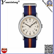 Yxl-127 Fashion Newest Watch Promotional Nylon Nato Ladies Dress Wrist Watch Japan Movt Wristwatch Mens