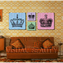 Оптовая продажа картины холстины холстины короны / искусства стены холстины Dropship / холстины холстины группы
