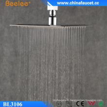 Pommeau de douche cascade en acier inoxydable de tête de salle de bain Beelee