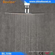 Beelee Bathroom Top Head Stainless Waterfall Shower Head