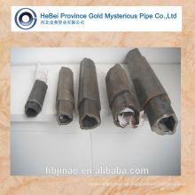 Tubo de acero triangular de carbono sin costura y tubo de acero triangular