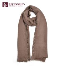 Хек рекламные многоцелевой мода элегантный шаль шарф с изготовленной на заказ печатью