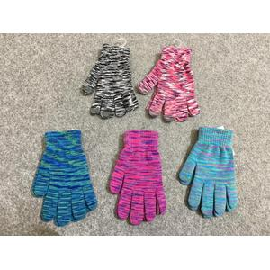Multi Knitted Touch Gloves