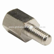 Aluminum spacer, hex head, turning parts, small MOQ, OEM/ODM provided