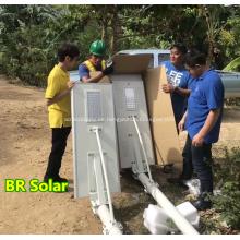 Farola Solar Integrada de Alto Brillo 120W
