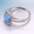 jóias de ouro dubai opala anel de prata
