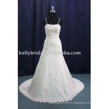 Vestido de boda elegante del cordón de la calidad 2012Imported