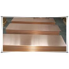 Tôle de cuivre non oxydée 1,5 mm prix d'usine