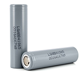 flashlight on iphone 6 battery LG 18650 B4 2600mAh battery