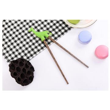 Wooden Cartoon Head Chinese Chopsticks