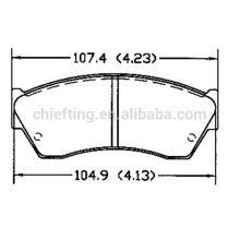 D451 55200-61880 Chevrolet press for brake pads