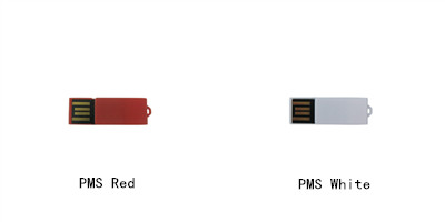 red usb flash drive