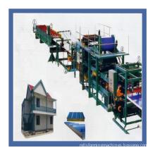 Fully automatic Trisomet 333 Insulated Panels sheet making machine