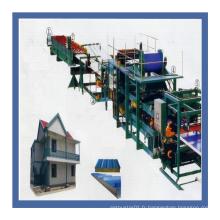 Machine complètement automatique de fabrication de feuilles de panneaux isolants de Trisomet 333