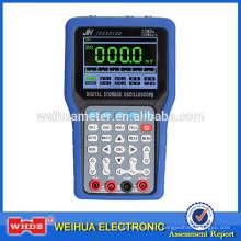 Oscilloscope avec oscilloscope numérique tenu dans la main de grand écran et multimètre 2 en 1 Scopemeter de gamme automatique de fonction WH3012
