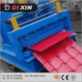 Azulejo esmaltado (parelmo) que forma la máquina