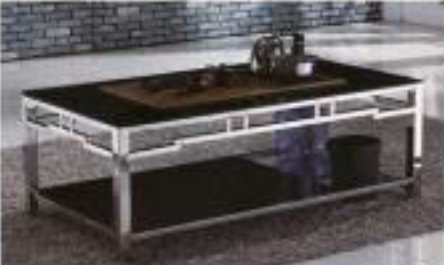 Table basse moderne reclaimed Sleek