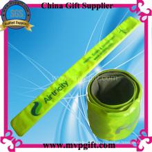 Pulsera reflexiva del PVC para el regalo de la promoción