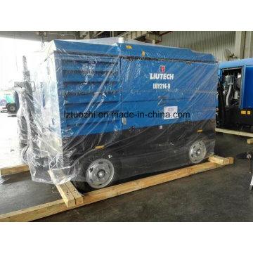 Compresor de aire diesel Atlas Copco-Liutech 756cfm 9bar