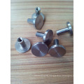 stainless steel male and female bolt with rubber sleeve