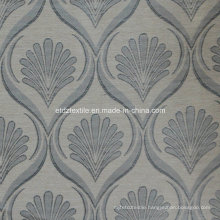 Grey 2015 Top Sell Linen Touching Jacquard Curtain Fabric