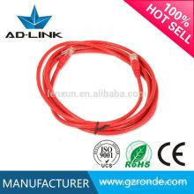 Colorido 23/24/26 / 28awg flat cat6 cable de remiendo del ftp