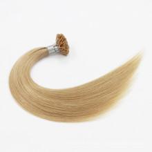 Double Dessiné Remy Prebonded U Pointe Cheveux / Extension de Cheveux de Cheveux Flat Tip Vierge / Je Pointe Brésilien